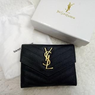 Yves Saint Laurent Beaute - イヴサンローラン❀YSL 折り財布 コイン入れ お札入れ