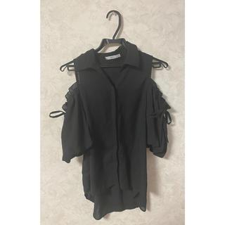 GRL - ○ GRL オフショル シャツ ブラック ○