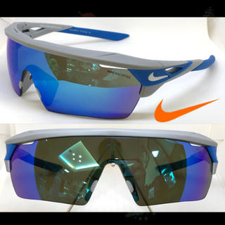 NIKE /'HYPERFORCE ELITE/' EV1067 013 Matte Wolf Grey Frame//Brown Lens Sunglasses