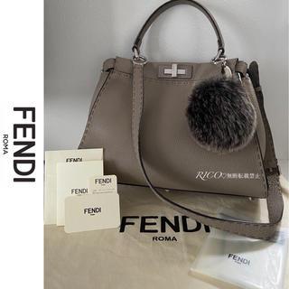 FENDI - 【美品】FENDI フェンディ セレリア ピーカブー アイコニック ミディアム
