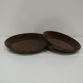 イッタラ(iittala)のイッタラ ティーマ 廃盤ブラウン2枚セット(食器)