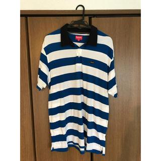 シュプリーム(Supreme)のsupreme ポロシャツ XL シュプリーム 半袖Tシャツ ロンT 美品(ポロシャツ)