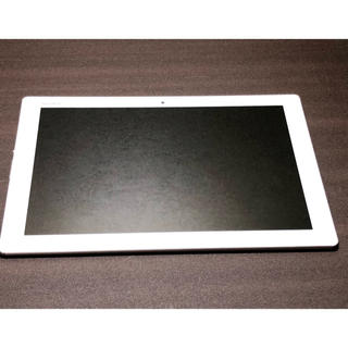 エクスペリア(Xperia)のXperia z4 tablet ホワイト SO-05G simフリー (タブレット)