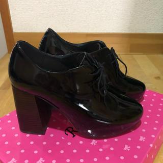 スナイデル(snidel)のsnidel エナメル靴 ヒール10cm 🎶(ハイヒール/パンプス)