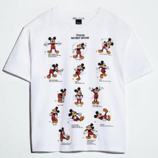 ZARA - ザラ ZARA ディズニー ミッキー Disney mickey Tシャツ