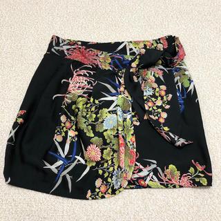 ザラ(ZARA)の売りつくしセール ZARAベーシック 巻きスカート(ひざ丈スカート)