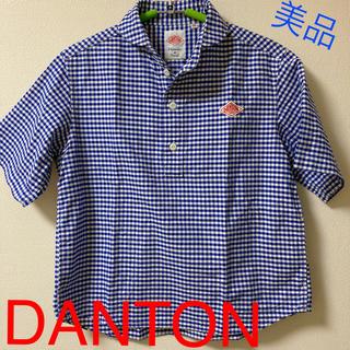 DANTON - DANTON *ギンガムチェック 34*美品