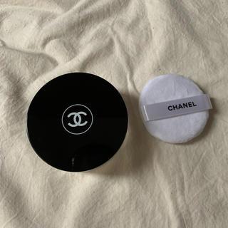 シャネル(CHANEL)のシャネルフェイスパウダー ケース&パフのみ(フェイスパウダー)