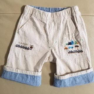 クレードスコープ(kladskap)のクレードスコープ 乗り物刺繍5分丈パンツ110(パンツ/スパッツ)