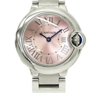 Cartier -  カルティエ Cartieレディース 腕時計 ピンク 文字盤 クォーツ ウォッチ