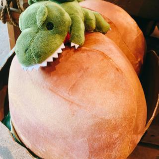 ユニバーサルスタジオジャパン(USJ)のUSJ☆ジュラシックパーク恐竜ぬいぐるみクッション(キャラクターグッズ)