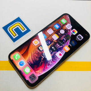 iPhone - 2- 5144 SIM FREE iPhone XS 64GB ゴールド