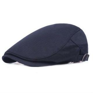 ハンチング帽 帽子 キャップ メンズ レディース 通気性 メッシュ ネイビー(ハンチング/ベレー帽)