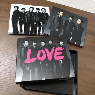 アラシ(嵐)のLOVE 初回限定盤CD+DVDアルバム嵐(ポップス/ロック(邦楽))