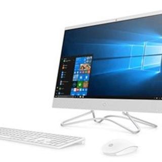 ヒューレットパッカード(HP)の23.8型液晶一体型デスクトップPC 24-f0051jp 6DV82AA-AA(デスクトップ型PC)