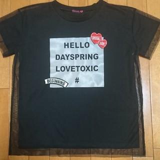lovetoxic - ラブトキシック  Mサイズ  Tシャツ