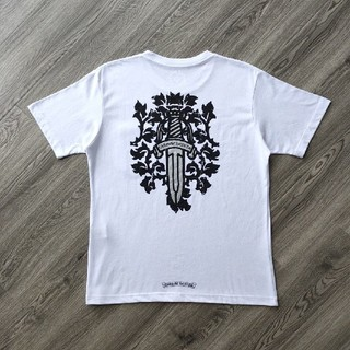 クロムハーツ(Chrome Hearts)の人気品Chrome Hearts クロムハーツ Tシャツ ホワイト メンズ (Tシャツ/カットソー(半袖/袖なし))
