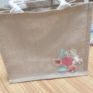 ムジルシリョウヒン(MUJI (無印良品))のジュートバッグB5アレンジ(トートバッグ)