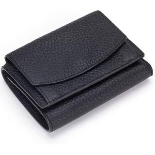 ミニ三つ折り財布本革(折り財布)