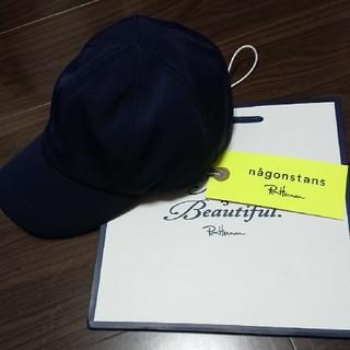 エンフォルド(ENFOLD)の今季完売 ロンハーマン別注 ナゴンスタンス キャップ ネイビー(キャップ)