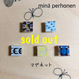 ミナペルホネン(mina perhonen)のミナペルホネン  ミニマグネット handmade ⑥(雑貨)