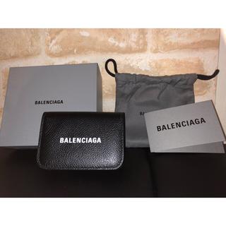 バレンシアガ(Balenciaga)のバレンシアガ 三つ折り ミニ財布 ロゴ (折り財布)