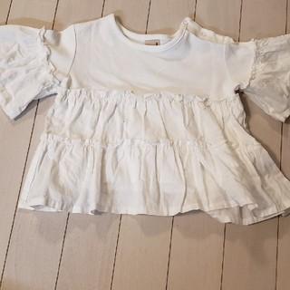 プティマイン(petit main)のプティマイン トップス 新品未使用(Tシャツ/カットソー)