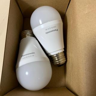 パナソニック(Panasonic)の60w形 LED電球 2個(蛍光灯/電球)