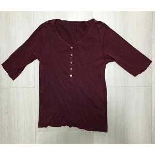 アタッチメント(ATTACHIMENT)のアタッチメント ヘンリーネック Tシャツ(Tシャツ/カットソー(半袖/袖なし))
