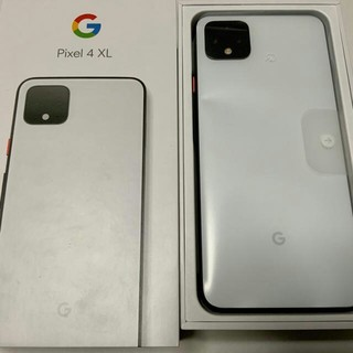ANDROID - 新品・未使用 SIMフリー PIXEL 4 XL 128GB white