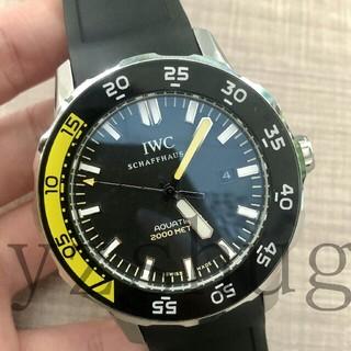 インターナショナルウォッチカンパニー(IWC)の超美品 IWC  クロノグラフ   時計 メンズ(レザーベルト)