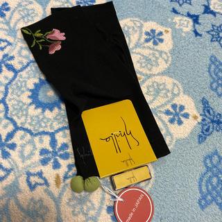 シビラ(Sybilla)の新品シビラ UV手袋 ショート丈 黒(手袋)