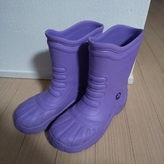 クロックス(crocs)のお岸様専用  クロックス 長靴 と ワンピース (レインブーツ/長靴)