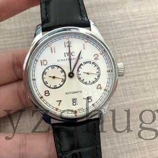 インターナショナルウォッチカンパニー(IWC)の美品 IWC  クロノグラフ   時計 メンズ(腕時計(アナログ))