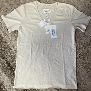 マルタンマルジェラ(Maison Martin Margiela)の新品未使用 マルジェラ VネックTシャツ(Tシャツ/カットソー(半袖/袖なし))