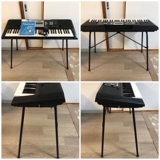 ヤマハ(ヤマハ)のYAMAHA キーボード PSR-E223 スタンド付き(電子ピアノ)