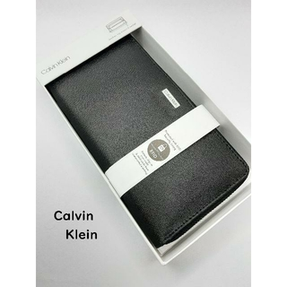 Calvin Klein - カルバンクライン Calvin Klein 長財布 財布 さいふ サイフ 黒