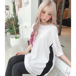 Rady - rady サイドラインTシャツ ホワイト S 新品♡