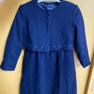 ファミリア(familiar)の110cm familiar 美品 お受験 卒業式 入学式 フォーマル(ドレス/フォーマル)