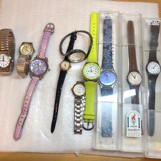オリエント(ORIENT)の時計まとめ売り10本 セット売り スウォッチ オリエント アナスイ他もろもろ(腕時計)