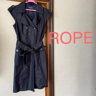 ロペ(ROPE)のROPEトレンチコートワンピース(ひざ丈ワンピース)