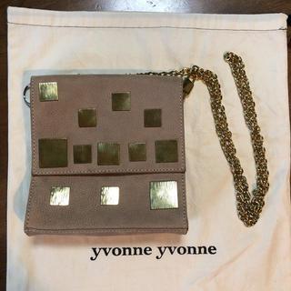 アッシュペーフランス(H.P.FRANCE)のyvonne yvonne ショルダーバッグ ジャンク品(ショルダーバッグ)