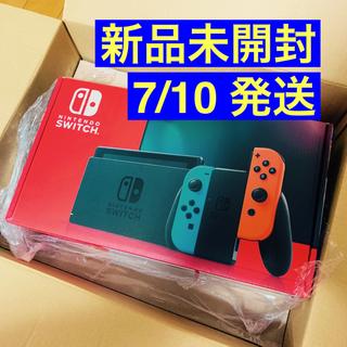 Nintendo Switch - 【新品未開封】Nintendo Switch 新型 本体 ネオンカラー