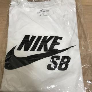 NIKE - ナイキ SB Tシャツ NIKE ロゴ アイコン 新品未使用 Tシャツ S 白