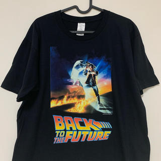 back to the future Tシャツ 黒