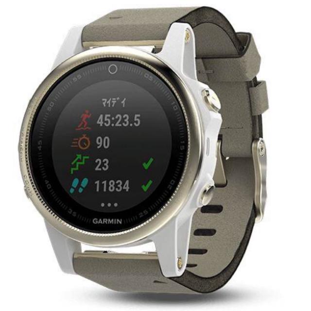 GARMIN(ガーミン)のGARMIN ガーミン  5s メンズの時計(腕時計(デジタル))の商品写真
