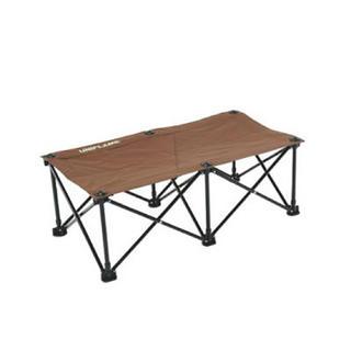 ユニフレーム(UNIFLAME)のユニフレーム UNIFLAME リラックスベンチ ベンチ ブラウン ブラック(テーブル/チェア)