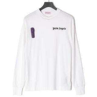 シュプリーム(Supreme)のpalm angels long sleeve new basic tee(Tシャツ/カットソー(七分/長袖))