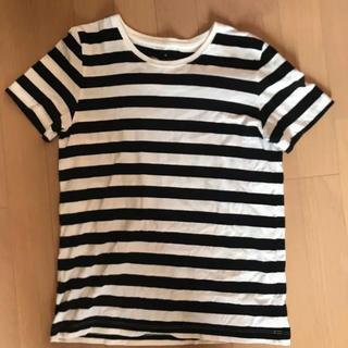 ムジルシリョウヒン(MUJI (無印良品))のボーダーTシャツ (Tシャツ/カットソー(半袖/袖なし))