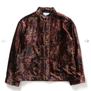 TOGA - TOGA VIRILIS 19AW Velvet print shirt